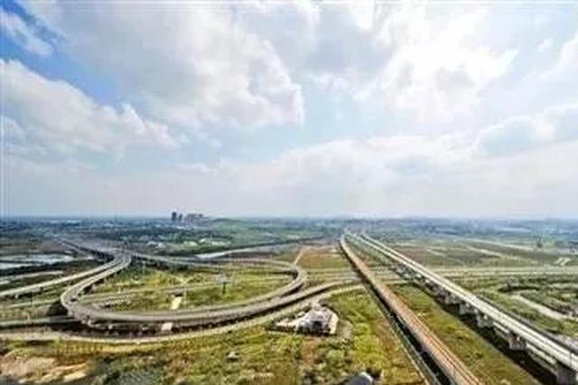 合芜高速二坝(长安)互通立交再开两匝道