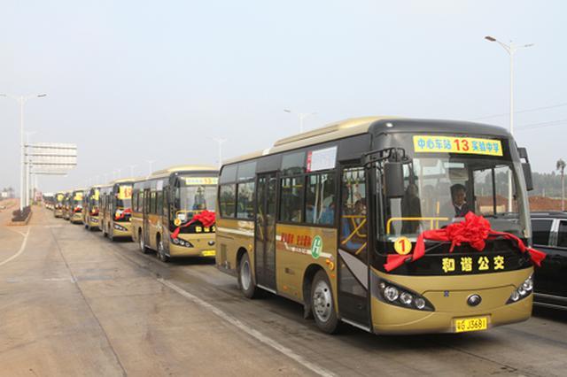 惠民公交畅城乡 泗县公交服务也跟上了大城市的步伐