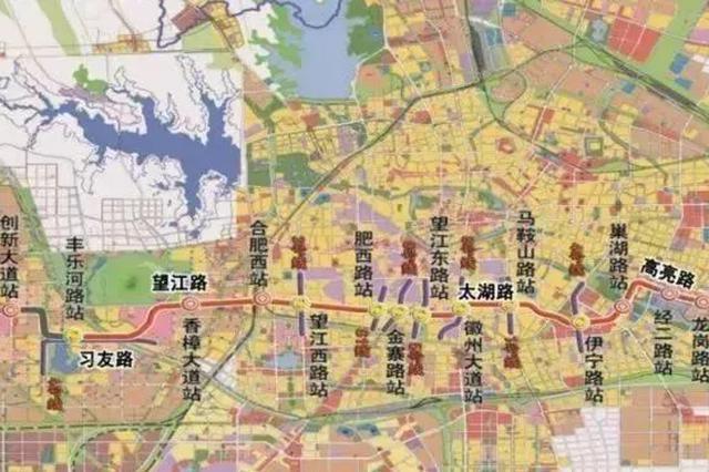 2018年合肥大爆发 4条地铁线同时开建
