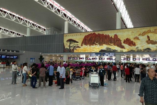新桥机场日旅客吞吐量近4万人次 确保返程顺利