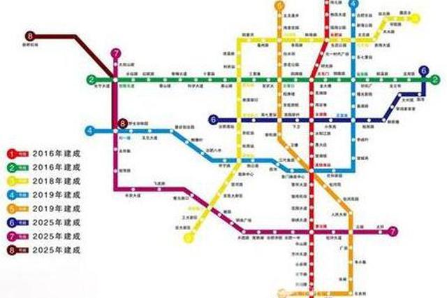 合肥地铁8号线明年开建 北城即将大爆发