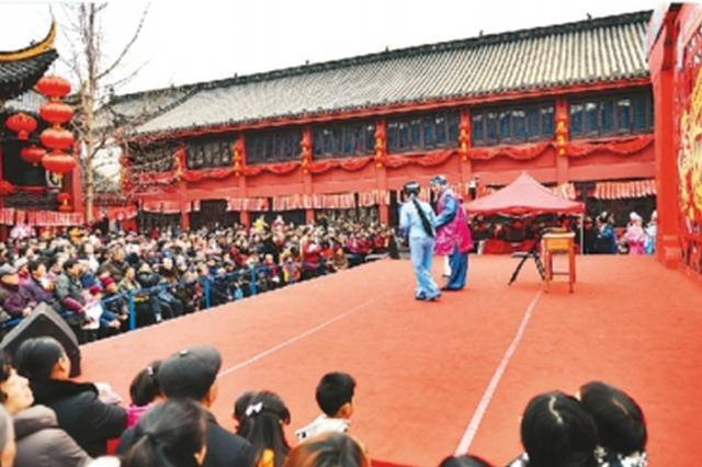 147.5万人次春节游庐阳区 传统庙会、游园等吸引游客