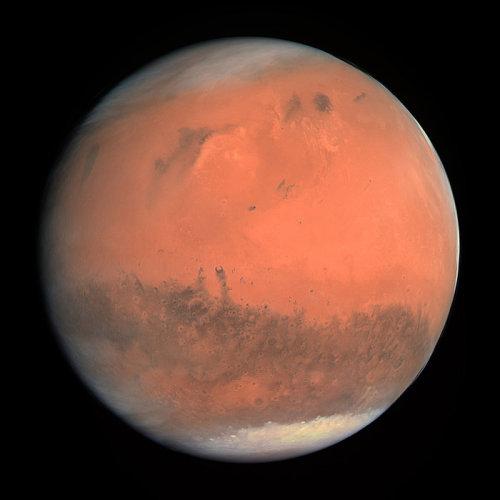 8月天象:火星六合木星的影响(图)