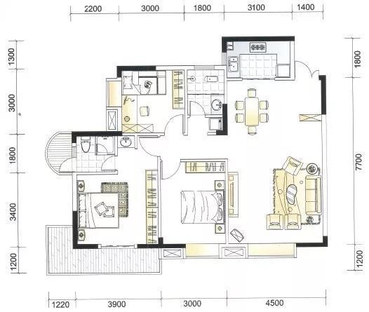 下面就来盘点一些房屋缺角的各种情况.