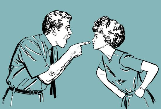 婚恋心理:夫妻之间吵架的五种艺术