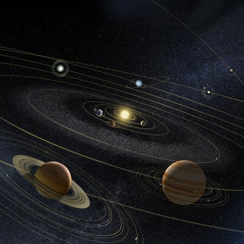 金星冲土星