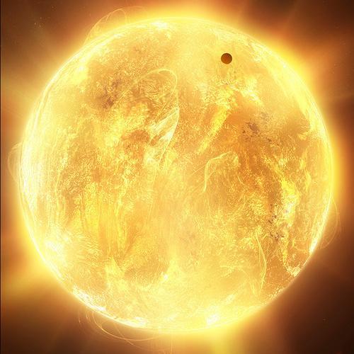 太阳冲木星