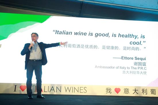 意大利驻华大使(Ambassador of Italy to The P.R.C)谢国谊(Ettore Sequi)先生