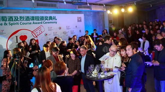 """""""我爱意大利葡萄酒""""北京站现场气氛热烈"""