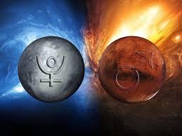 冥王星&火星