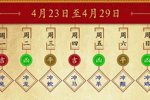 浮图塔每周生肖运势详解(4.23-4.29)