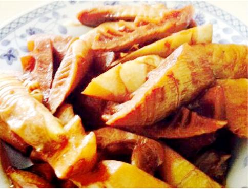 素食养生:油焖笋