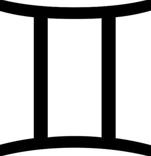 双子座的符号