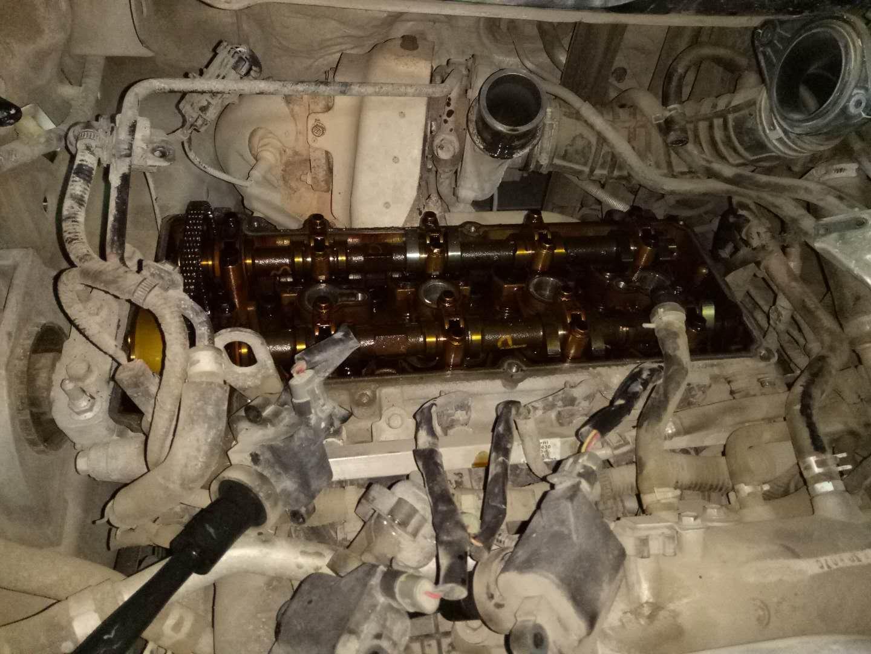 发动机异响,发动机故障灯亮