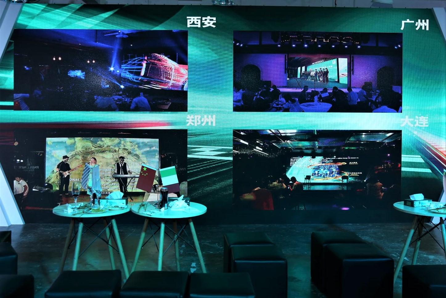 马石油F1极速盛典分别在上海、广州、郑州、西安及大连五城同时开幕