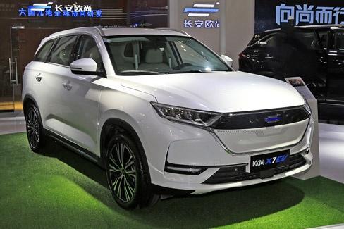 2020海口新能源车展|长安欧尚X7 EV首发