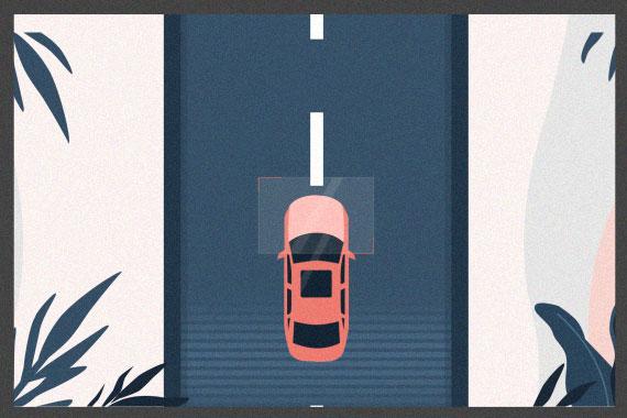 上帝视角开车 大幅度减少摩擦碰撞