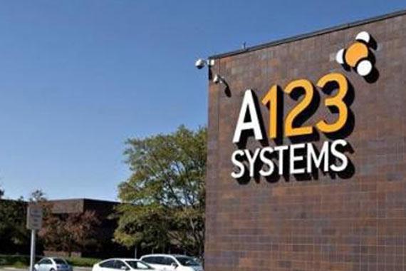 万向收购的A123电池商存活依靠中国输血