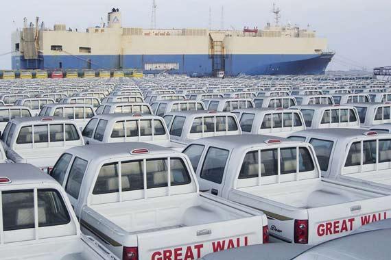 长城汽车出口销量减半 俄罗斯市场销售为0
