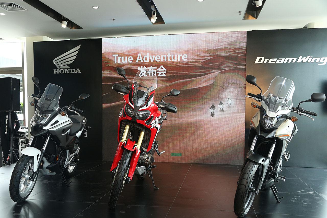 本田发布CB500X、NC750X跨界摩托车