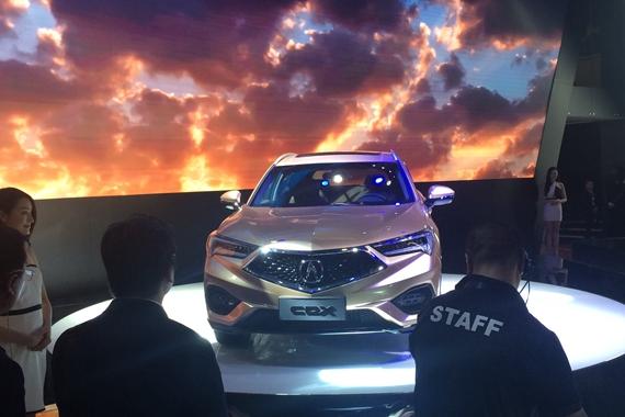 2016北京车展讴歌小型SUV新车命名CDX