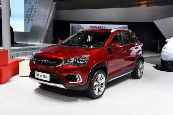 2016北京车展奇瑞瑞虎3X正式发布