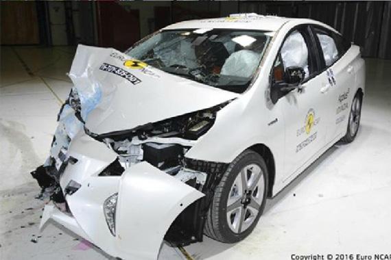新普锐斯 新Euro-NCAP碰撞成绩发布