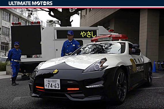 东京警察叔叔新座驾 NISSAN 370Z NISMO