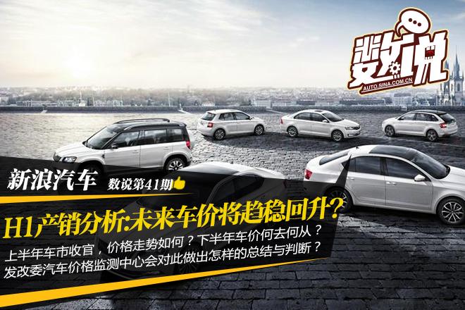 数说|H1产销分析 未来车价将趋稳回升?