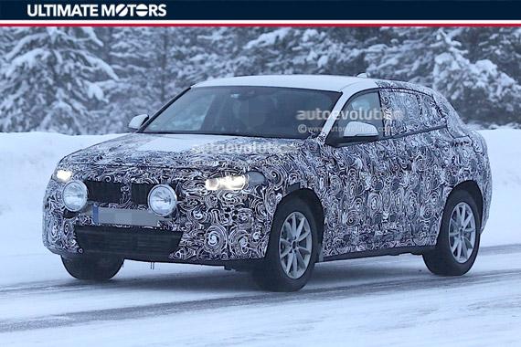 BMW X2谍照 同级别首创四门轿跑版紧凑SUV