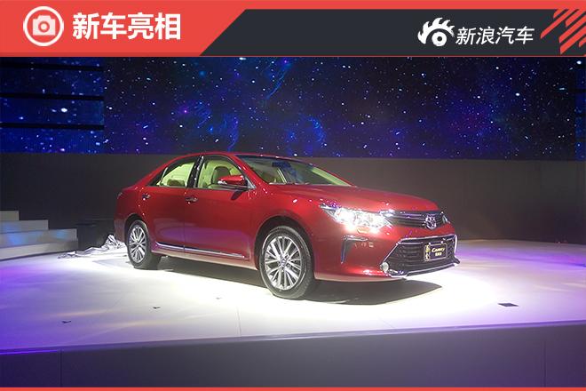 广汽丰田凯美瑞十周年纪念版正式亮相