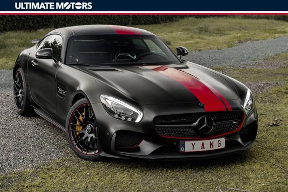 暗黑红龙 AMG GT S个性化涂装