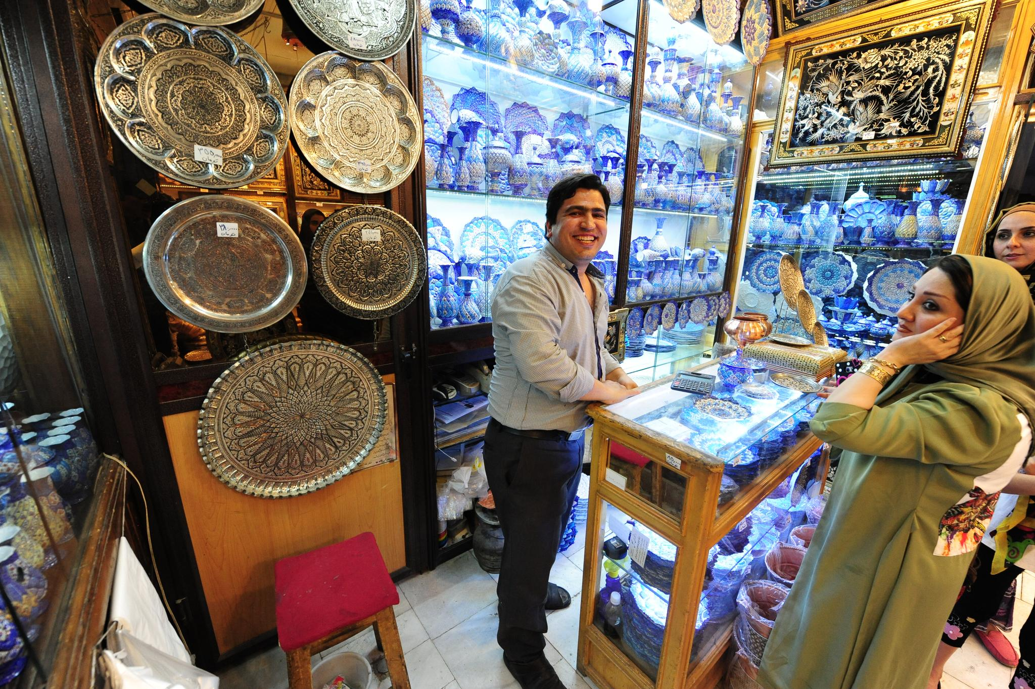 视频:[Going]在伊朗大巴扎做懂行的买家
