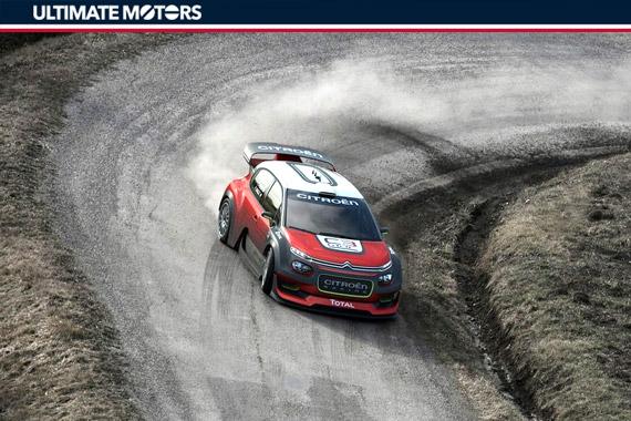雪铁龙C3 WRC概念车将亮相巴黎车展