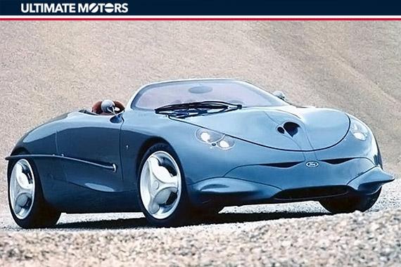 未来福克斯?福特Ghia Focus概念车
