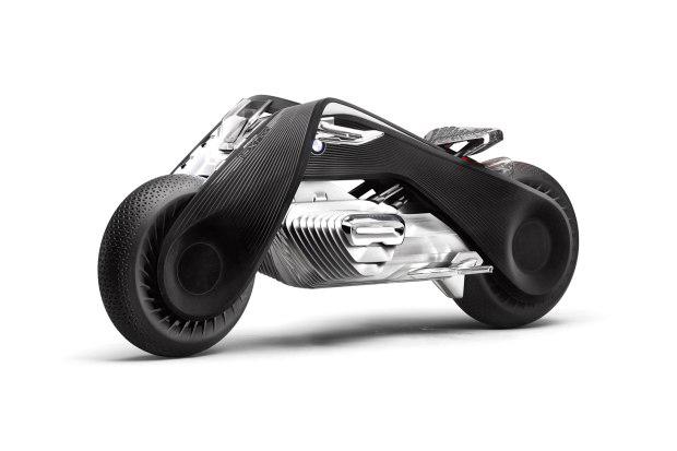 永不翻车的摩托 宝马Motorrad VISION NEXT 100概念车