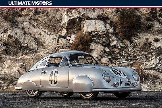经典1951年款保时捷356 SL Gmund Coupe