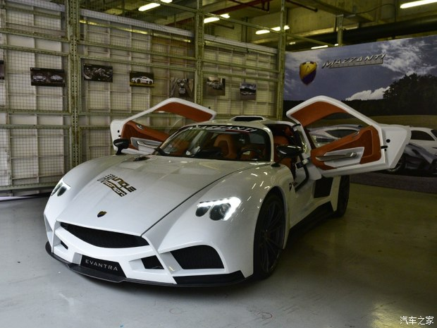 中国赛道嘉年华:Evantra V8首次亮相