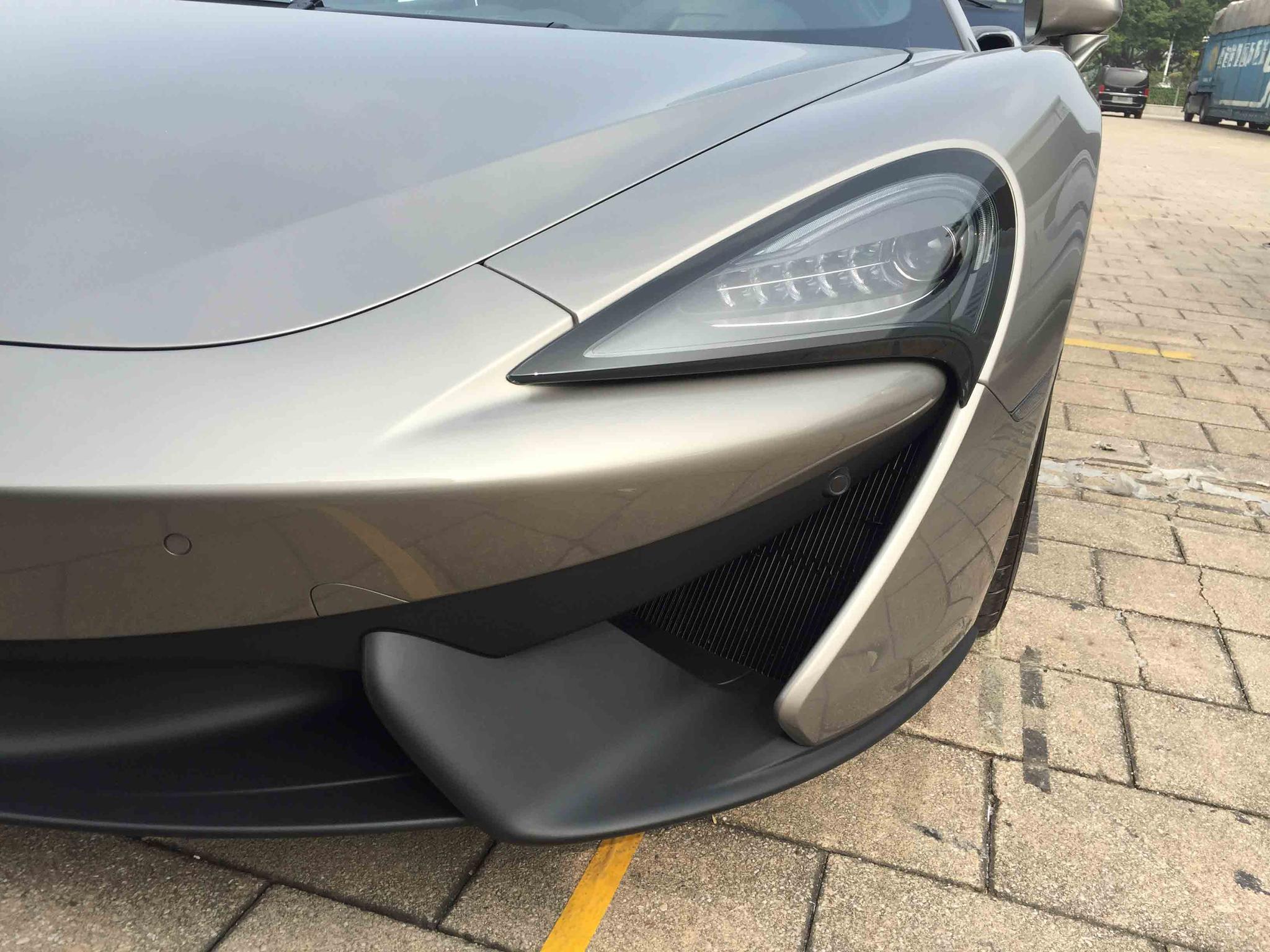 2016广州车展探馆:迈凯伦540C Coupe实车