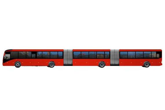 沃尔沃在巴西卖世界最大公交车