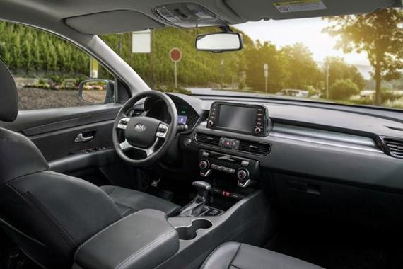 又一款七人座SUV 起亚发布KX7内饰官图