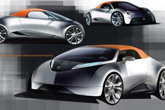 3月亮相 塔塔子品牌TAMO将推概念跑车
