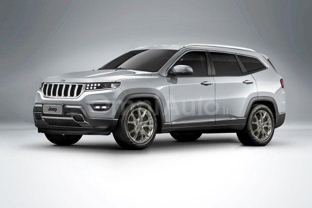 全新Jeep大瓦格尼(Grand Wagoneer)的假想图