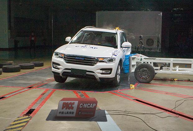 碰撞安全不错 哈弗H7获C-NCAP五星评价