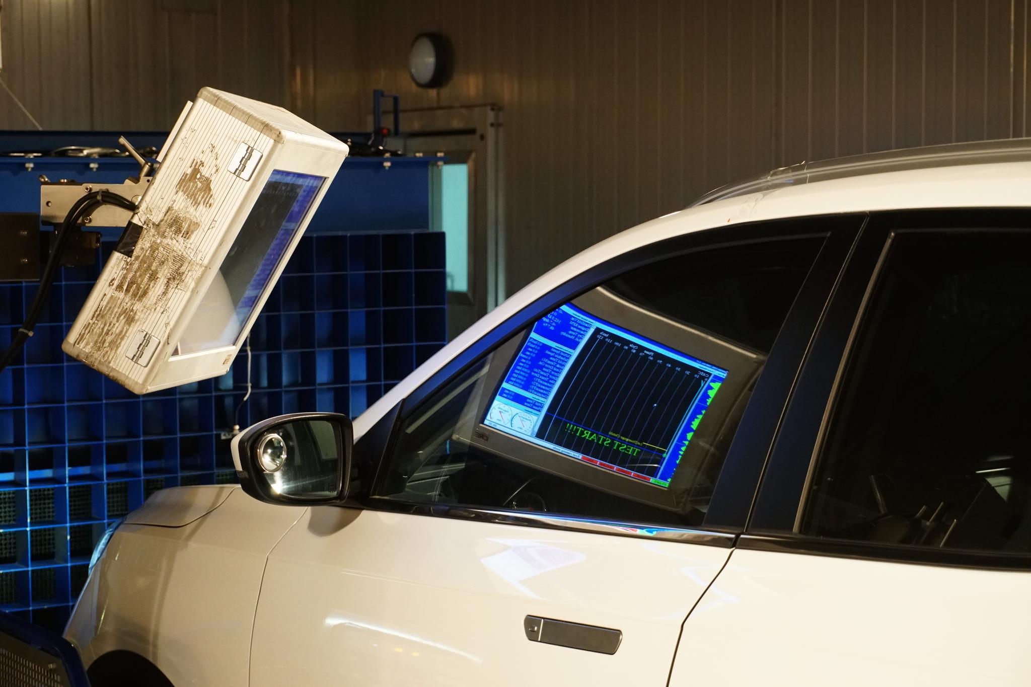《这车靠谱么》实验室数据采集实拍