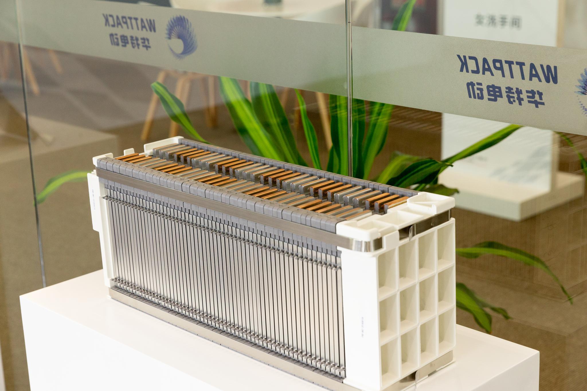 前途汽车设计的标准电池箱