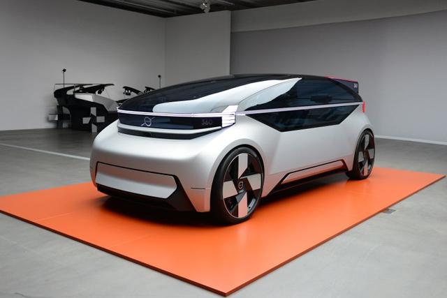 沃爾沃360c概念車發布 采用全自動駕駛技術