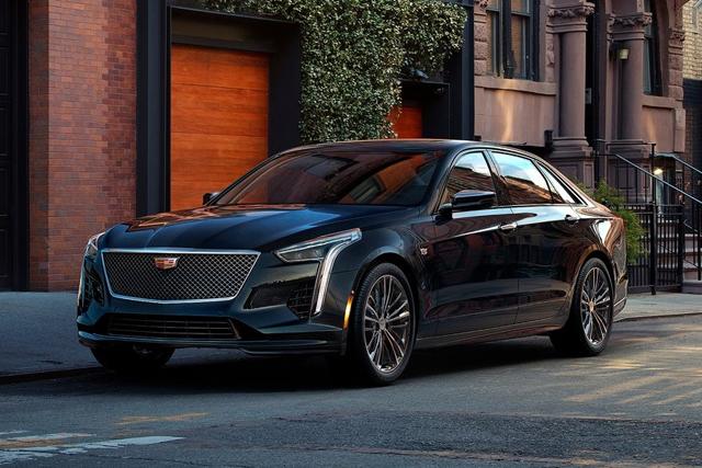 新车|凯迪拉克高性能轿车CT6-V官图发布