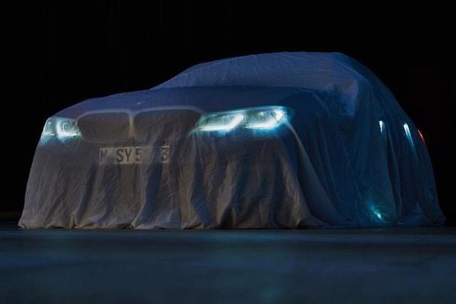 新车|全新宝马3系预告图 或巴黎车展亮相