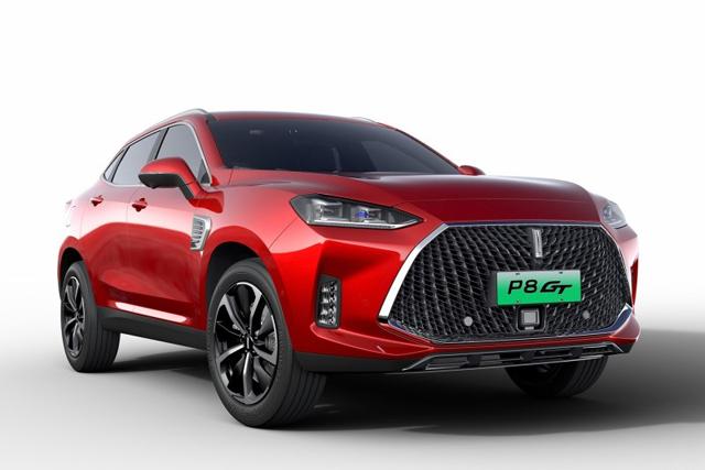 新车|WEY全新混动SUV P8 GT官图发布